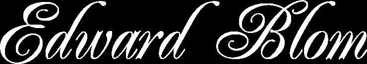 Edward Blom – gastronom och kulturhistoriker
