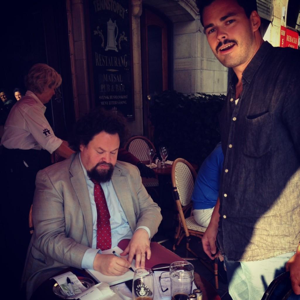 Tennstopet-signering